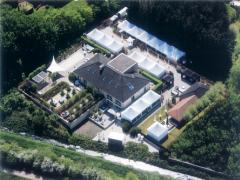 Over te nemen met of zonder exclusief gebouw tuinontwerp met totaal concept regio Brabant-Limburg centraal België Locatie niet gespecificeerd n°5