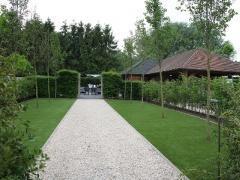Over te nemen met of zonder exclusief gebouw tuinontwerp met totaal concept regio Brabant-Limburg centraal België Locatie niet gespecificeerd n°6