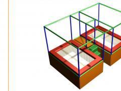 Voor kinderen speelplaats*terrein over te nemen dichtbij centrum van Charleroi Henegouwen n°5