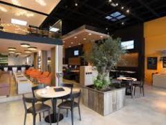 Brasserie - Restaurant over te nemen in een retail park van 25 winkels (Delhaize, Krëfel) in de regio van Bergen Henegouwen n°2